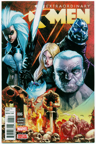 EXTRAORDINARY X-MEN#6
