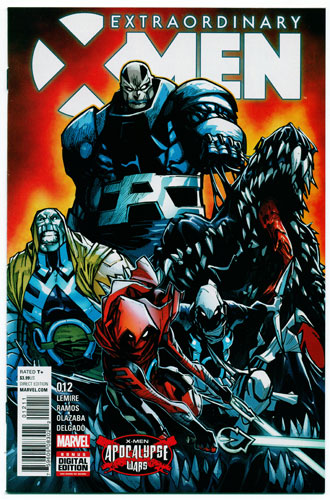 EXTRAORDINARY X-MEN#12