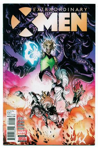 EXTRAORDINARY X-MEN#15