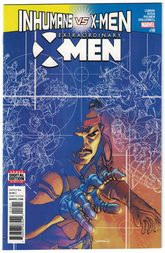 EXTRAORDINARY X-MEN#18