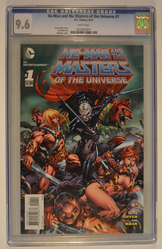 HE-MAN AND THE MASTERS OF THE UNIVERSE#1
