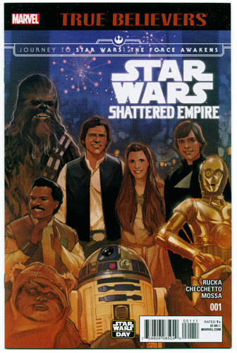 JOURNEY TO STAR WARS: THE FORCE AWAKENS--SHATTERED EMPIRE#1