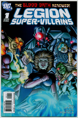 LEGION OF SUPER-VILLAINS#1