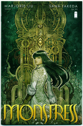 Key Issue cover 1 for MONSTRESS
