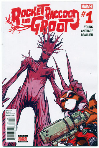 ROCKET RACCOON AND GROOT#1