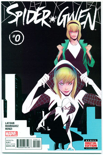 Key Issue cover 4 for SPIDER-GWEN