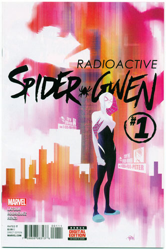 Key Issue cover 3 for SPIDER-GWEN