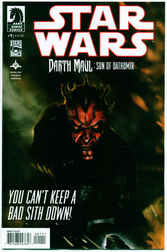 Key Storyline cover 3 for DARTH MAUL