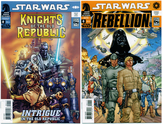 STAR WARS: KNIGHTS OF THE OLD REPUBLIC/REBELLION#0