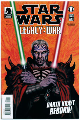 STAR WARS: LEGACY--WAR#1