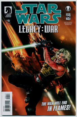STAR WARS: LEGACY--WAR#6