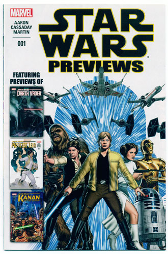STAR WARS PREVIEWS#1