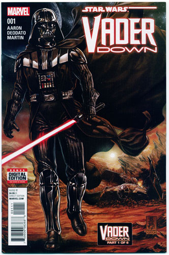 Key Storyline cover 4 for DARTH VADER