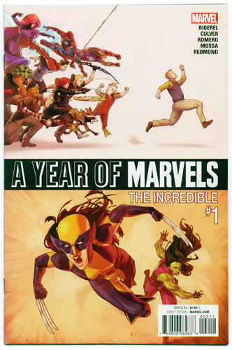A YEAR OF MARVELS: THE INCREDIBLE#1