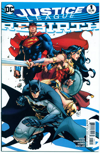 JUSTICE LEAGUE: REBIRTH#1