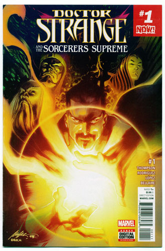 DOCTOR STRANGE AND THE SORCERERS SUPREME#1