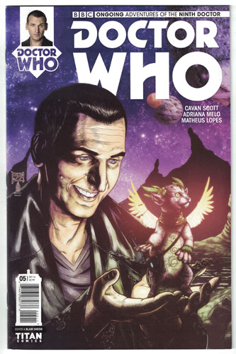 DOCTOR WHO: THE NINTH DOCTOR#5