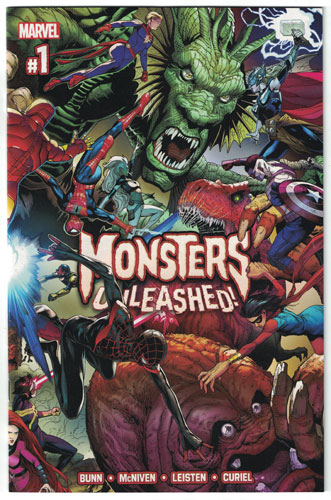 MONSTERS UNLEASHED#1