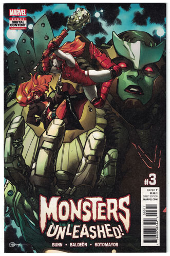 MONSTERS UNLEASHED#3