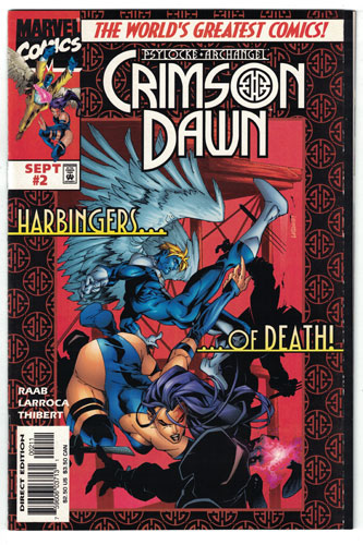 PSYLOCKE AND ARCHANGEL CRIMSON DAWN#2