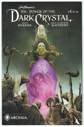 Key Issue cover 4 for DARK CRYSTAL