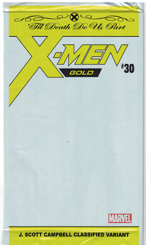 X-Men: Gold #30 Polybagged Variant