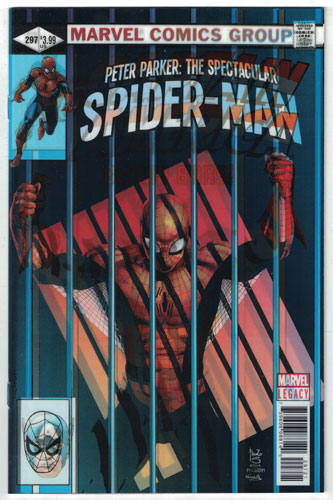 PETER PARKER: THE SPECTACULAR SPIDER-MAN#297