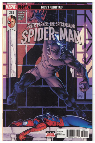 PETER PARKER: THE SPECTACULAR SPIDER-MAN#298