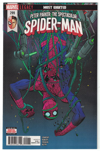 PETER PARKER: THE SPECTACULAR SPIDER-MAN#299