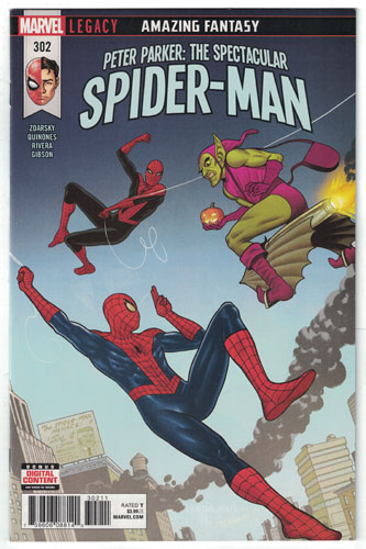 PETER PARKER: THE SPECTACULAR SPIDER-MAN#302