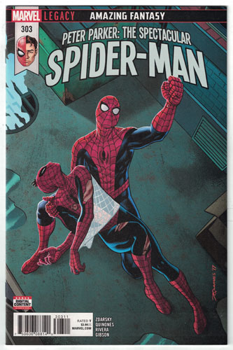 PETER PARKER: THE SPECTACULAR SPIDER-MAN#303