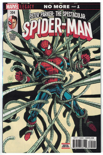 PETER PARKER: THE SPECTACULAR SPIDER-MAN#304