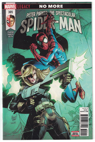 PETER PARKER: THE SPECTACULAR SPIDER-MAN#305