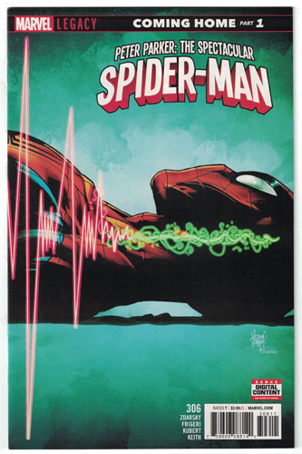 PETER PARKER: THE SPECTACULAR SPIDER-MAN#306