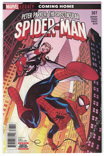 PETER PARKER: THE SPECTACULAR SPIDER-MAN#307