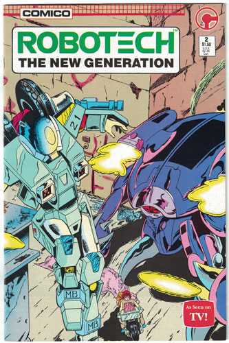 ROBOTECH: THE NEW GENERATION#2