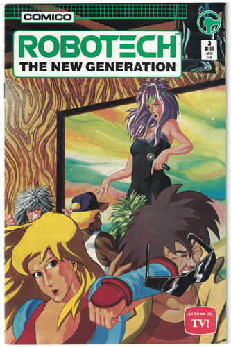 ROBOTECH: THE NEW GENERATION#3