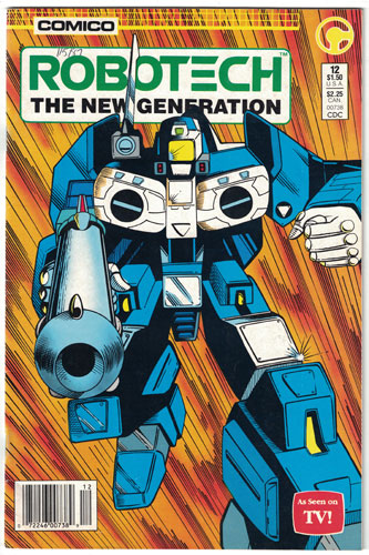 ROBOTECH: THE NEW GENERATION#12