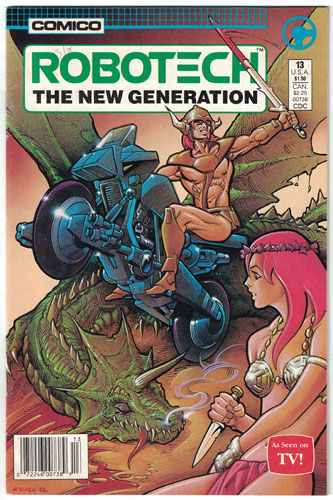 ROBOTECH: THE NEW GENERATION#13