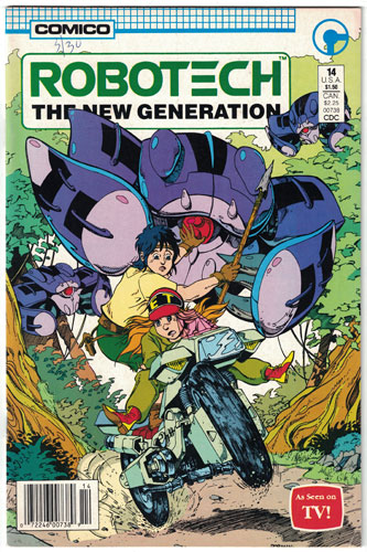 ROBOTECH: THE NEW GENERATION#14