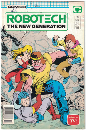 ROBOTECH: THE NEW GENERATION#15