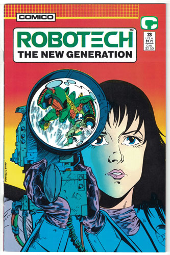 ROBOTECH: THE NEW GENERATION#23