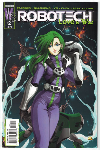 ROBOTECH: LOVE AND WAR#2