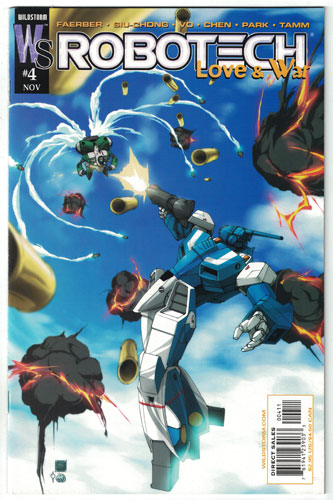 ROBOTECH: LOVE AND WAR#4