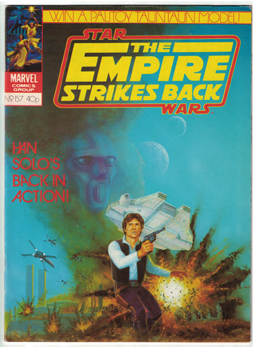EMPIRE STRIKES BACK MONTHLY#157
