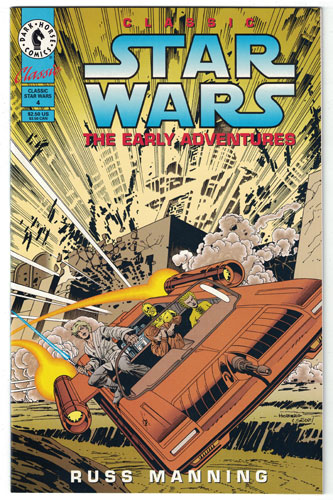 CLASSIC STAR WARS: THE EARLY ADVENTURES#4
