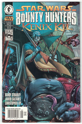 STAR WARS: THE BOUNTY HUNTERS--KENIX KIL