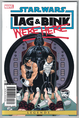 STAR WARS: TAG AND BINK WERE HERE#1