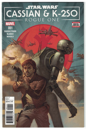 STAR WARS: ROGUE ONE--CASSIAN AND K-2SO SPECIAL#1