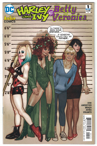 HARLEY AND IVY MEET BETTY AND VERONICA#1